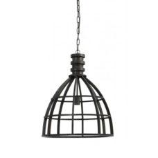 Hanglamp 50x62,5cm metaal antiek zwart