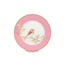 Pip Plate Early Bird Pink - 21 cm