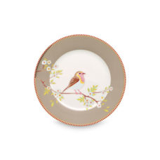 Pip Plate Early Bird Khaki - 21 cm