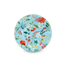 Pip Plate Hummingbirds Blue - 32 cm