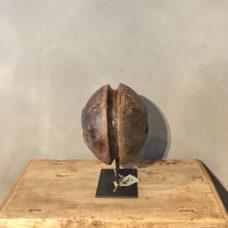 Ornament op ijzeren voet 30/35 cm