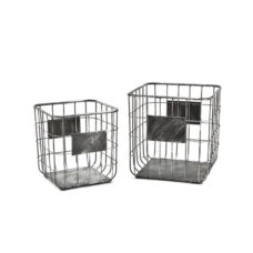Basket set van 2 framework - small