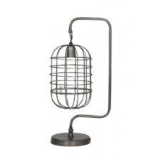 Tafellamp 28x20x59cm Kooi vintage tin