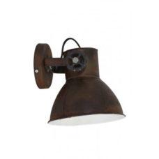 Wandlamp 18x20x19cm Roest