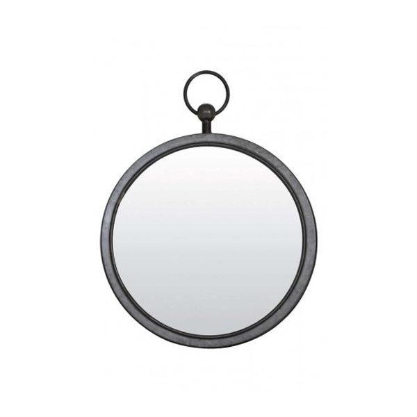 Spiegel 46x52x6 cm metaal zink