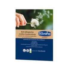 Silvana anti-allergische molton kussensloop 60x70cm