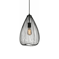 Hanglamp Nador 30cm Zwart