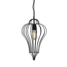 Hanglamp Divide 29cm Zwart