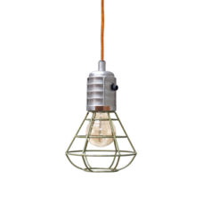 STBR green metal mine lamp