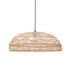HK Living rieten hang lamp medium (60x60x20)
