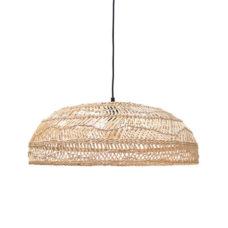 HK Living rieten hang lamp medium (60x60x20)