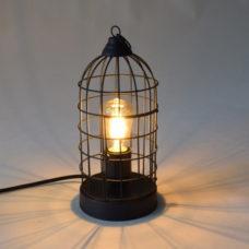 Tafellamp Birdy Mat zwart