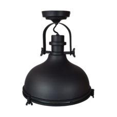 Plafondlamp Harvey mat zwart