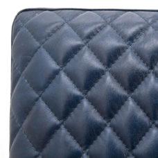 Fauteuil Bart - Blauw Leder