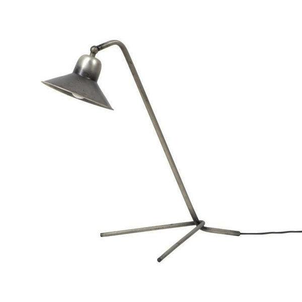 Bekend Tafellamp Bonnet triangle voet – Oud zilver | Cees Mooi Stoer Wonen GT16