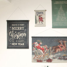 HK Living Kerstposter - Season's greetings