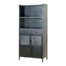 Koen - Boekenkast 2-deurs en 2 laden