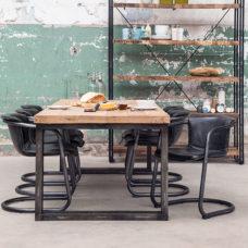 Josh - Eettafel 300cm Zwart