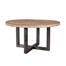 Josh - Eettafel rond zwart 150cm