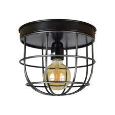 Plafondlamp Barn large 22x21cm vintage black