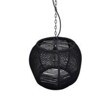 Hanglamp Rope 43cm Zwart