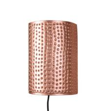 Wandlamp Spike Koper
