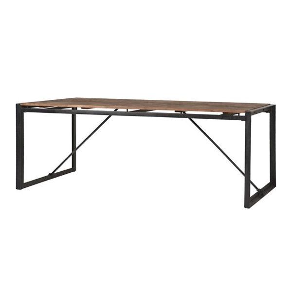 Mooie Stoere Eettafel.Eettafel Metalen Frame No 1 220cm