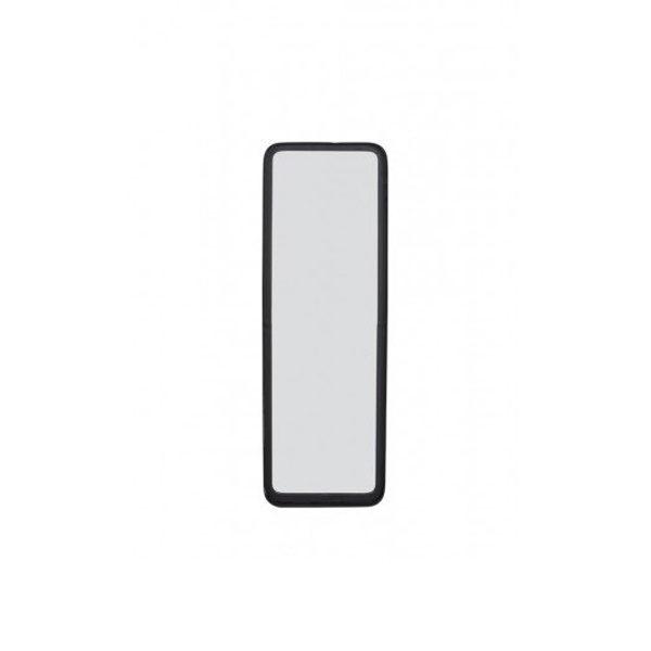 Spiegel mat zwart 20x4,5x60 cm