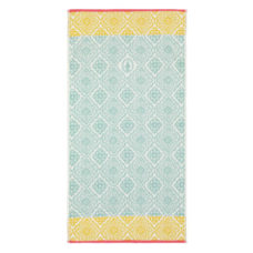 PIP Jacquard Check Douchelaken - Light Blue