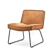 Lounge fauteuil Montana - Cognac
