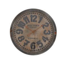 Klok 68x6cm Clovis grijs