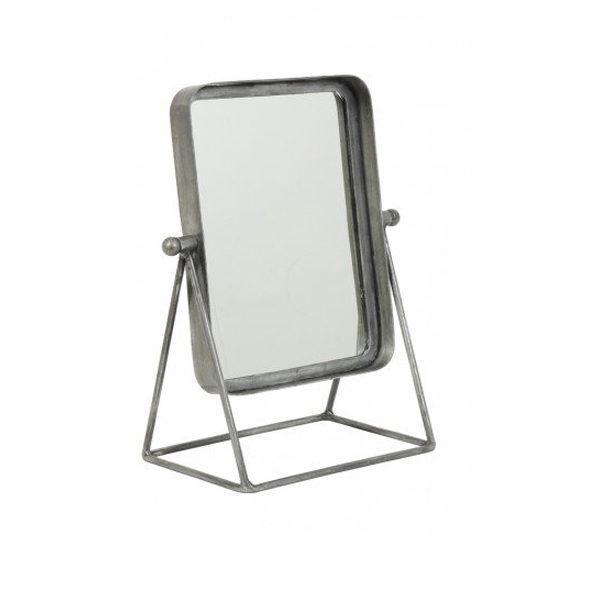 Spiegel 30x18x38 cm antiek zink