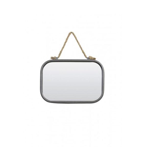 Spiegel 19,5x28x4 cm zink
