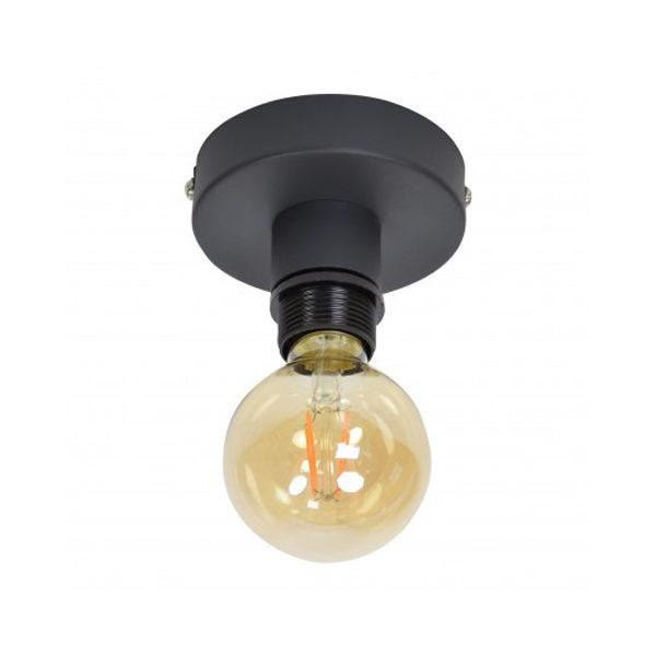Plafondlamp Single Vintage Black