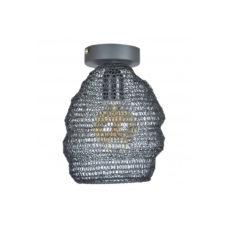 Plafondlamp Mesh 15cm Vintage Black
