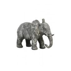 Ornament olifant oud beton 30,5x18,5x24cm