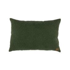 BePureHome Flatter kussen katoen groen 40x60cm