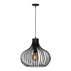 Hanglamp Aglio 38cm - Zwart