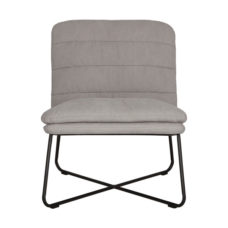 Fauteuil Stripe - Stonewashed cotton grey
