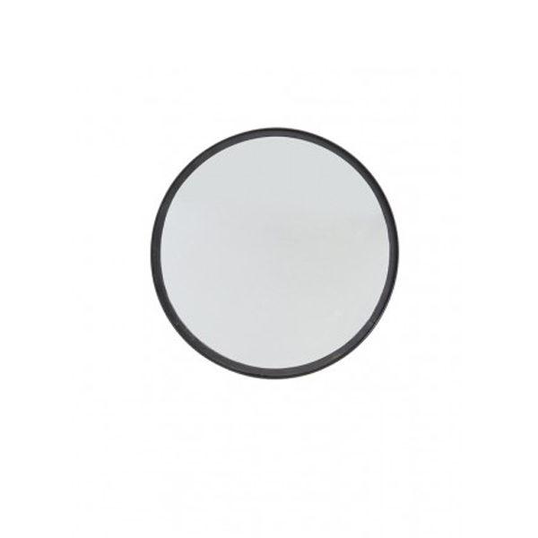 Spiegel mat zwart - 40x4cm