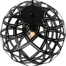 Hanglamp Bol 50cm - Zwart