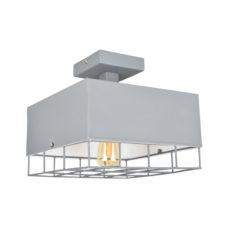 Plafondlamp Cage vintage grey