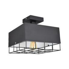 Plafondlamp Cage vintage black