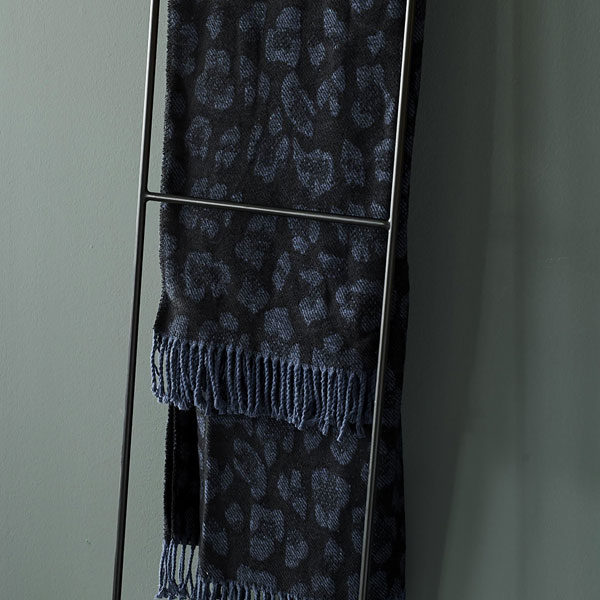 ESSENZA Bory plaid 150x200cm - Blue