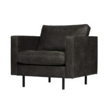 BePureHome Rodeo Classic fauteuil zwart