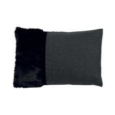 Sierkussen Stefanie 40x60cm - Zwart
