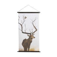 BePureHome O Deer kerstposter velvet