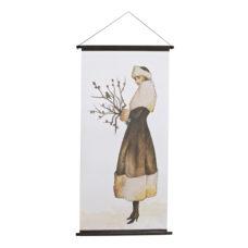 BePureHome Wintertime kerstposter velvet