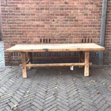 Salontafel elm hout 171,5x62x54cm