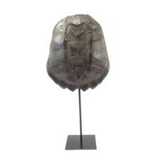 Ornament schildpad Katana large - Brown